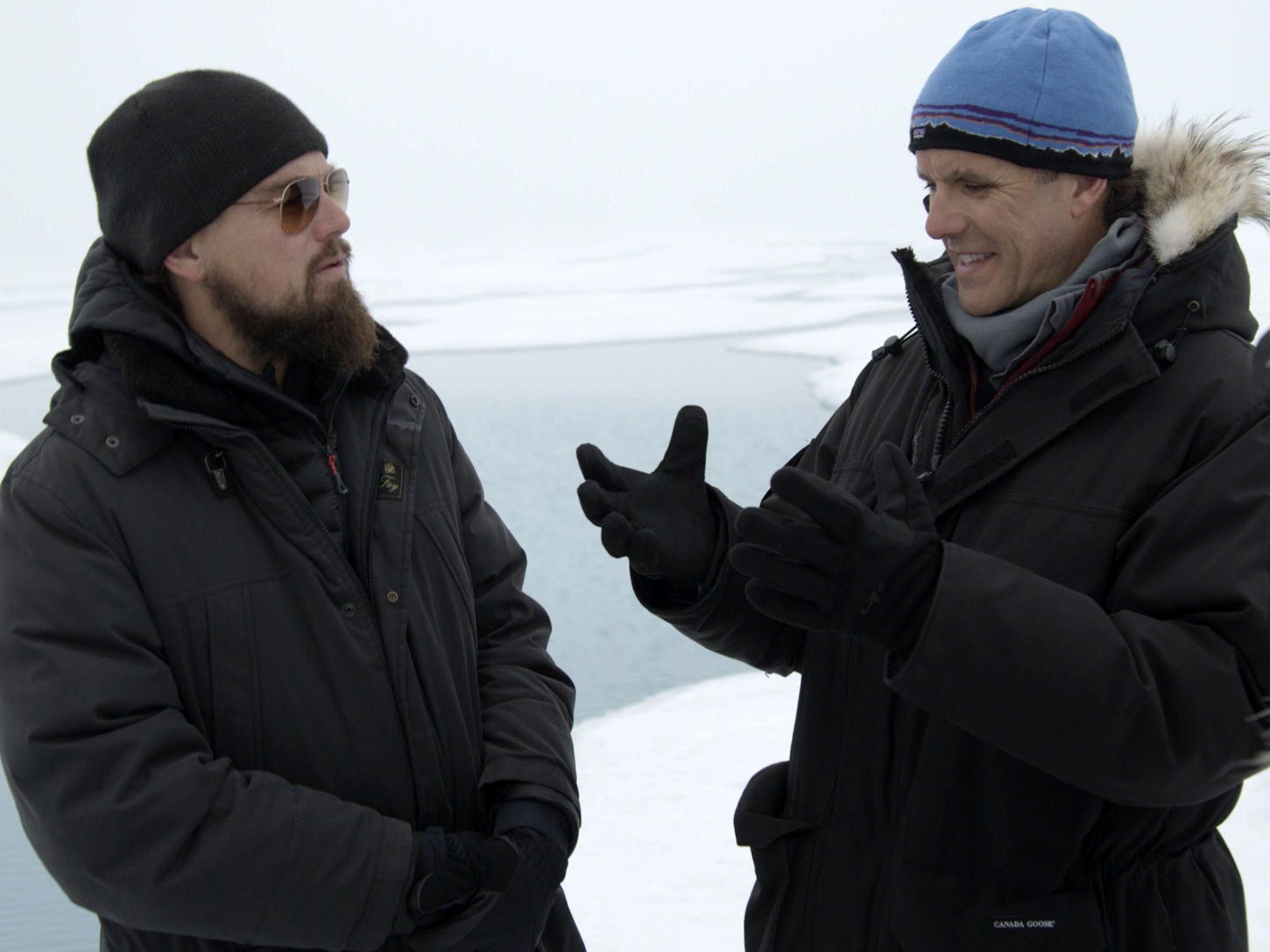 في القطب الشمالي: يُجري ليناردو مقابلة مع إينريك... [Photo of the day - أكتوبر 2016]