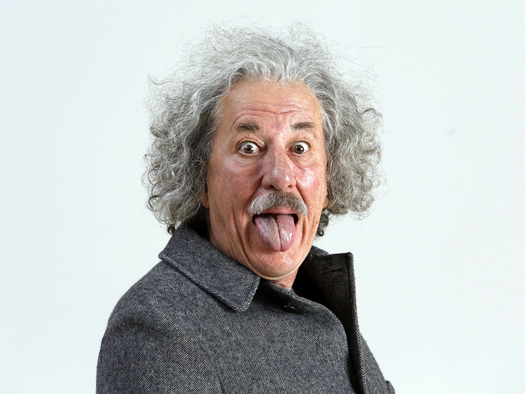 Czech Republic: Geoffrey Rush stars as Albert Einstein in National Geographic's Genius. [Photo of the day - May 2017]