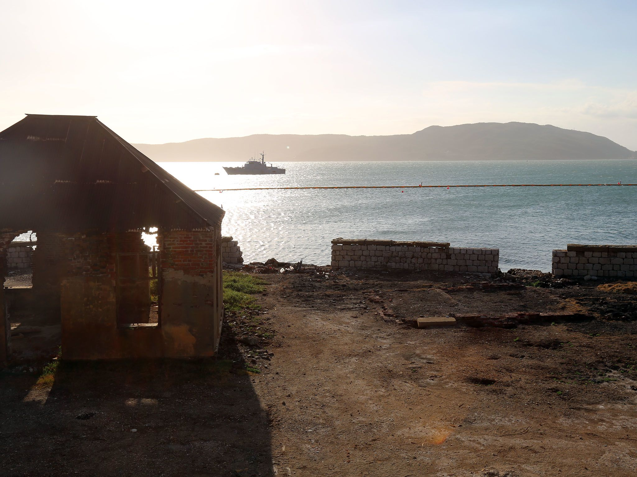 Port Royal, Jamaica: View overlooking the remains of the Naval Hospital, on to the site of the... [Photo of the day - July 2017]