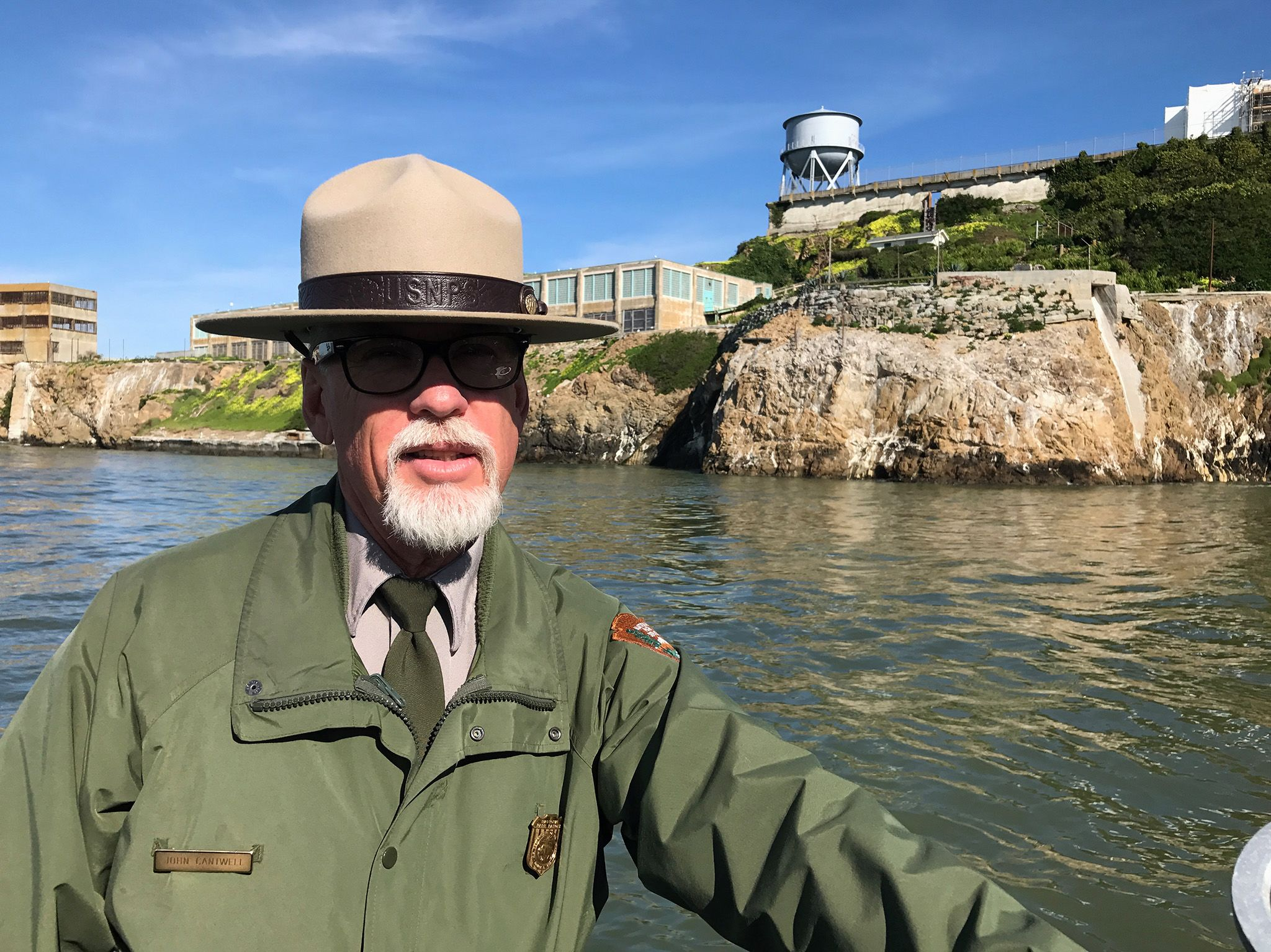 California:  Ranger John Cantwell, National Parks Service. This image is from Drain Alcatraz. [Photo of the day - December 2017]