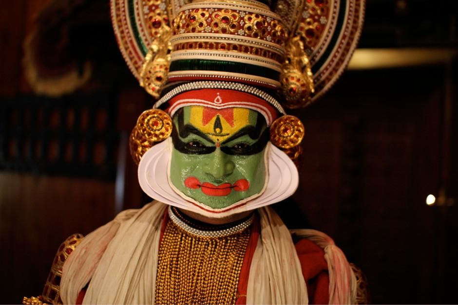 Kerala, India: A Kathakali character ready for one of the oldest theatre forms in the world. ... [Photo of the day - March 2012]