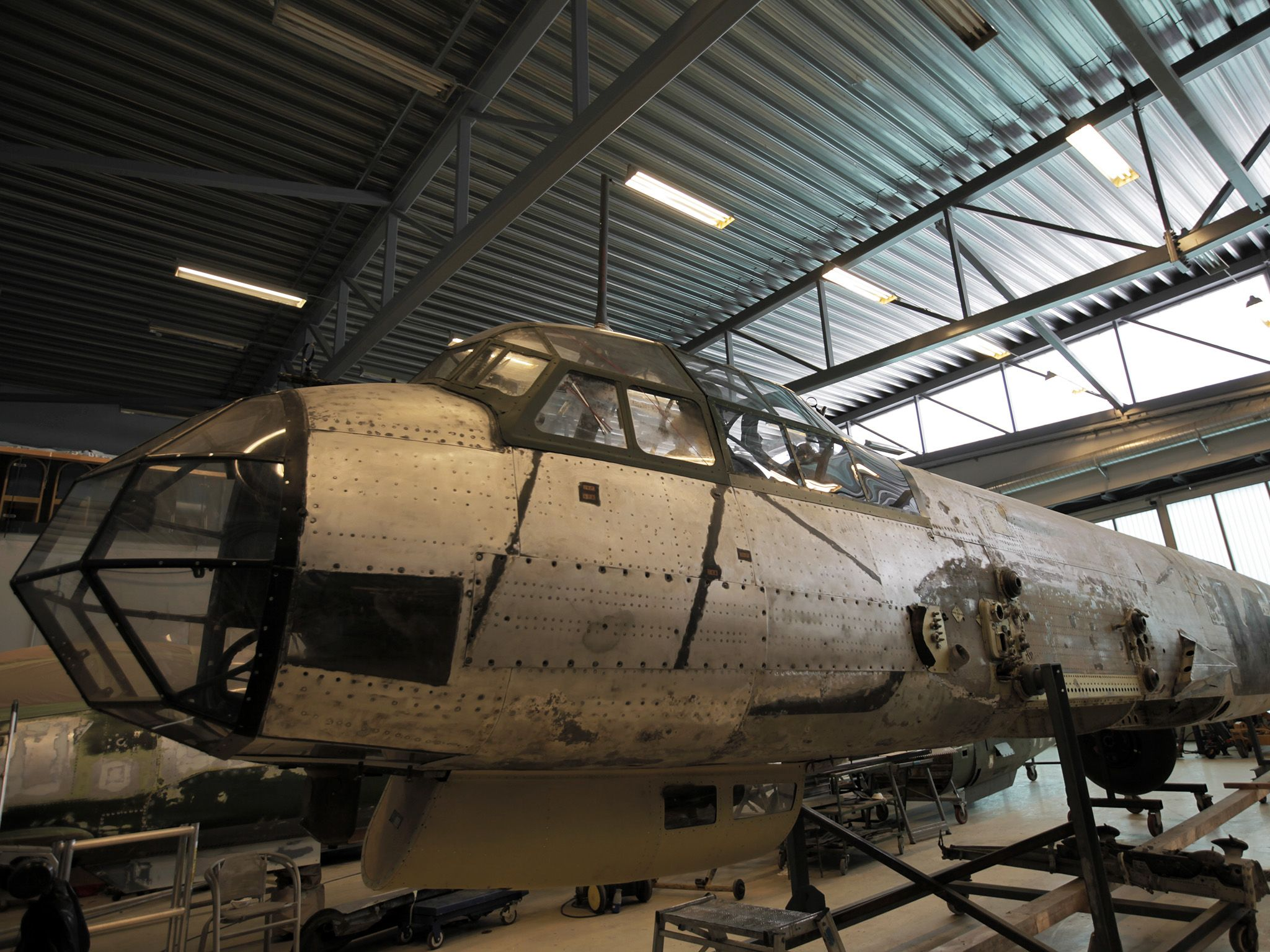 JU88 Bomber Airplane. This image is from Nazi Megastructures: Russia's War. [Photo of the day - June 2018]