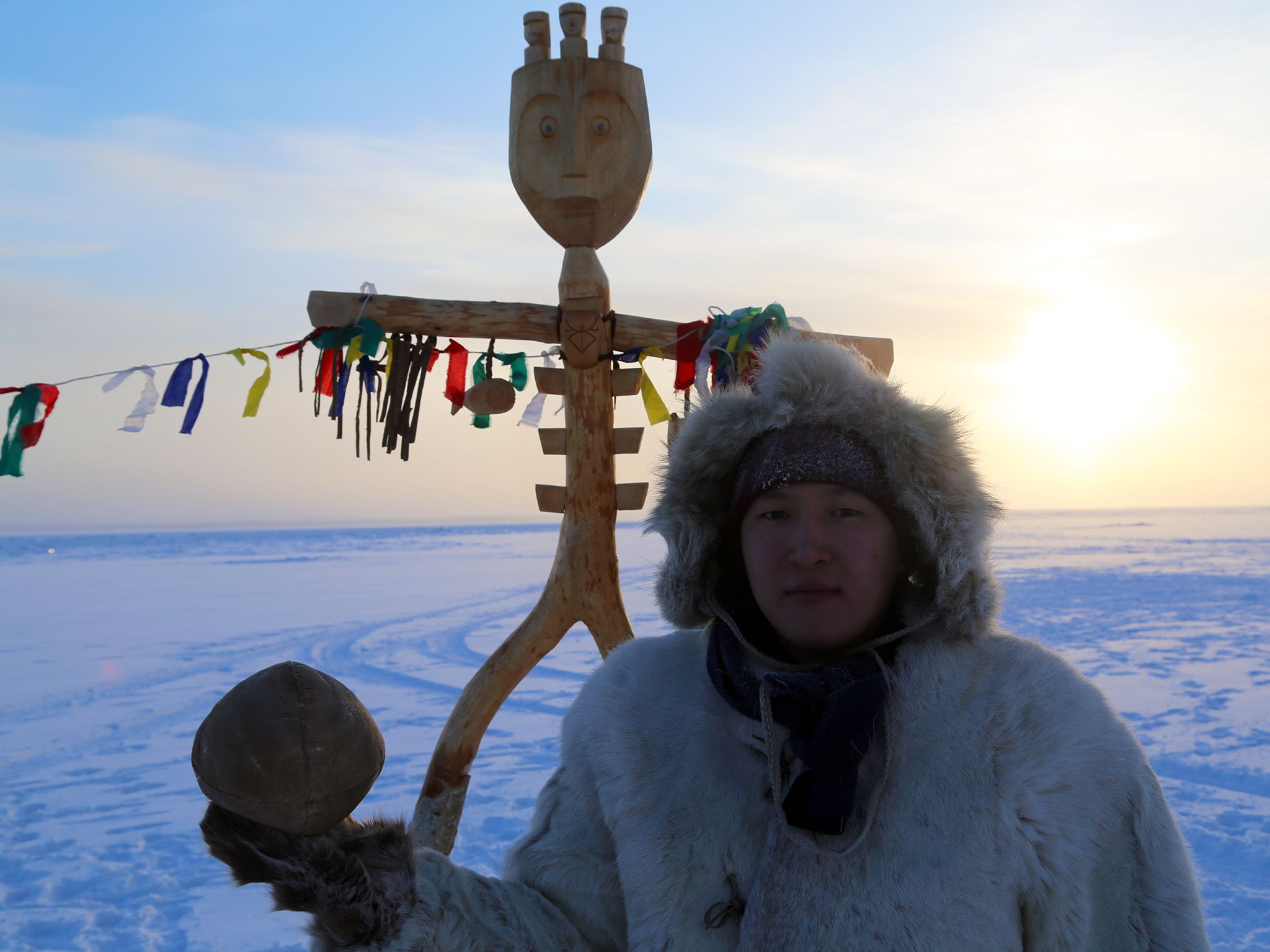 Yakutsk, Russia:  Casian Khristoforov, a member of the Evenk community of the Russian Arctic,... [Photo of the day - June 2018]