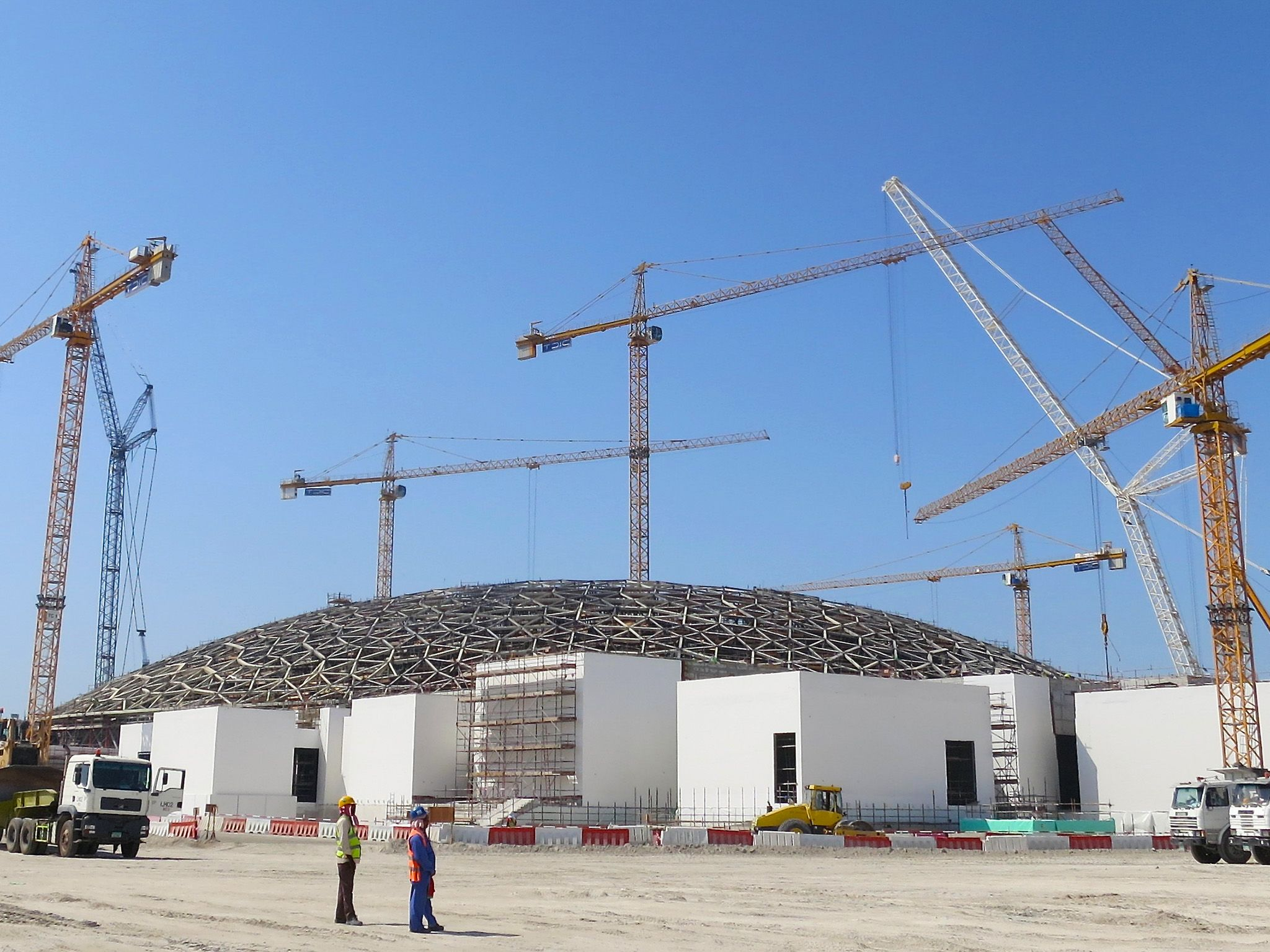 Abu Dhabi: The exterior of the Louvre Ahu Dhabi. This image is from Megastructures: Louvre Abu... [Photo of the day - June 2018]