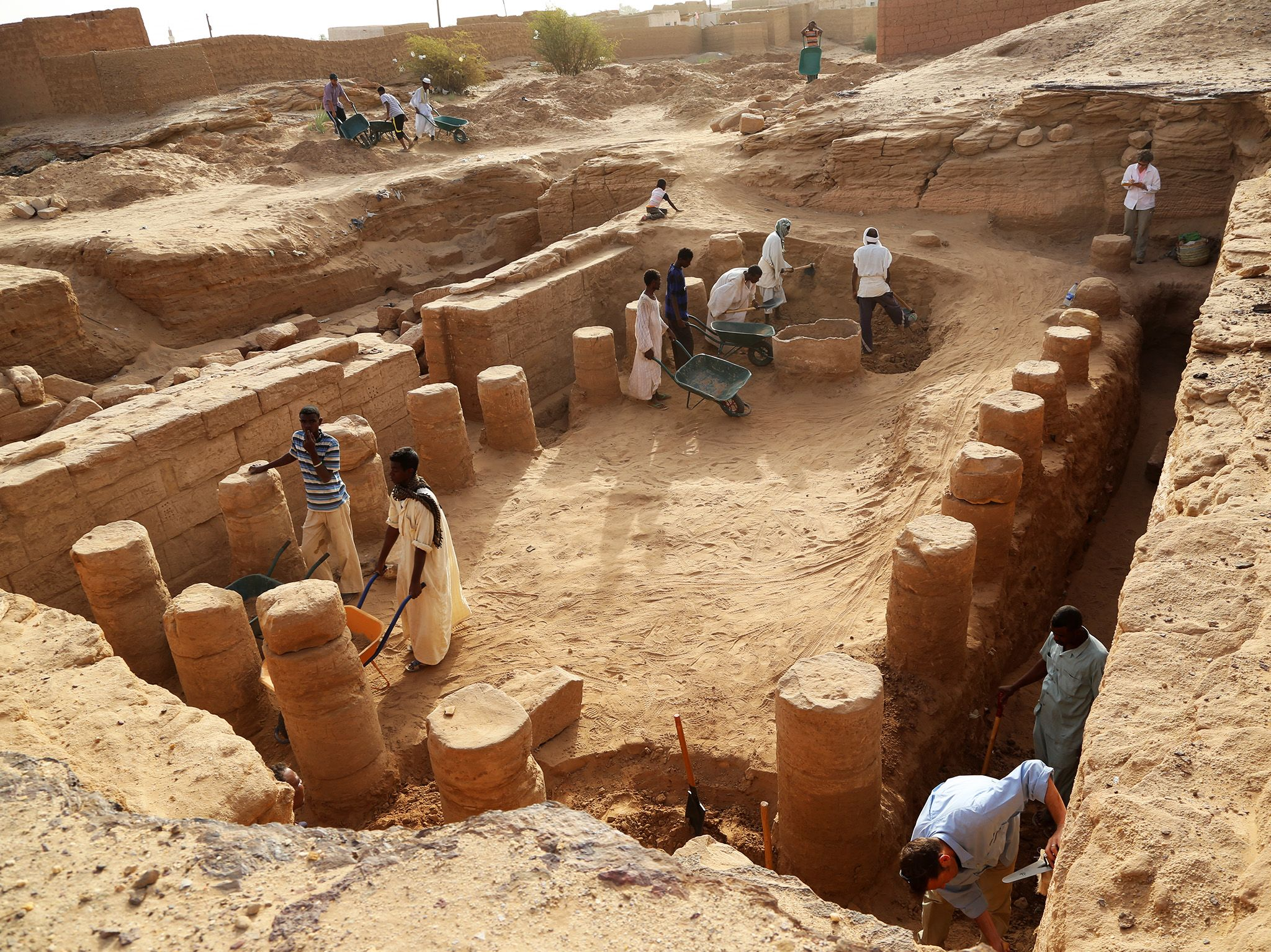 In modern-day Sudan, archaeologists dig through ancient pyramids and burial sites in search of... [Photo of the day - September 2018]