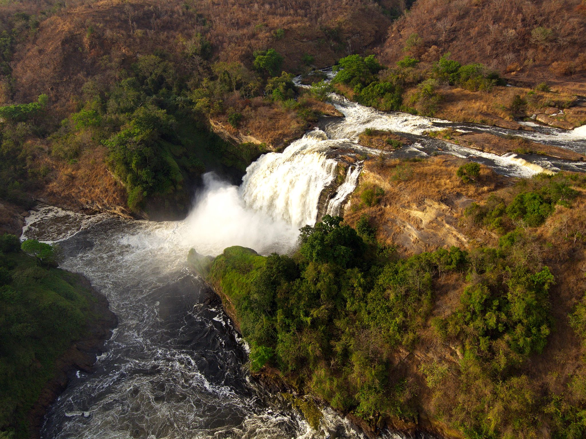 Uganda:  Nile, Rapids Murchison Falls, Murchison Falls National Park. This image is from Wild... [Foto del giorno - September 2018]