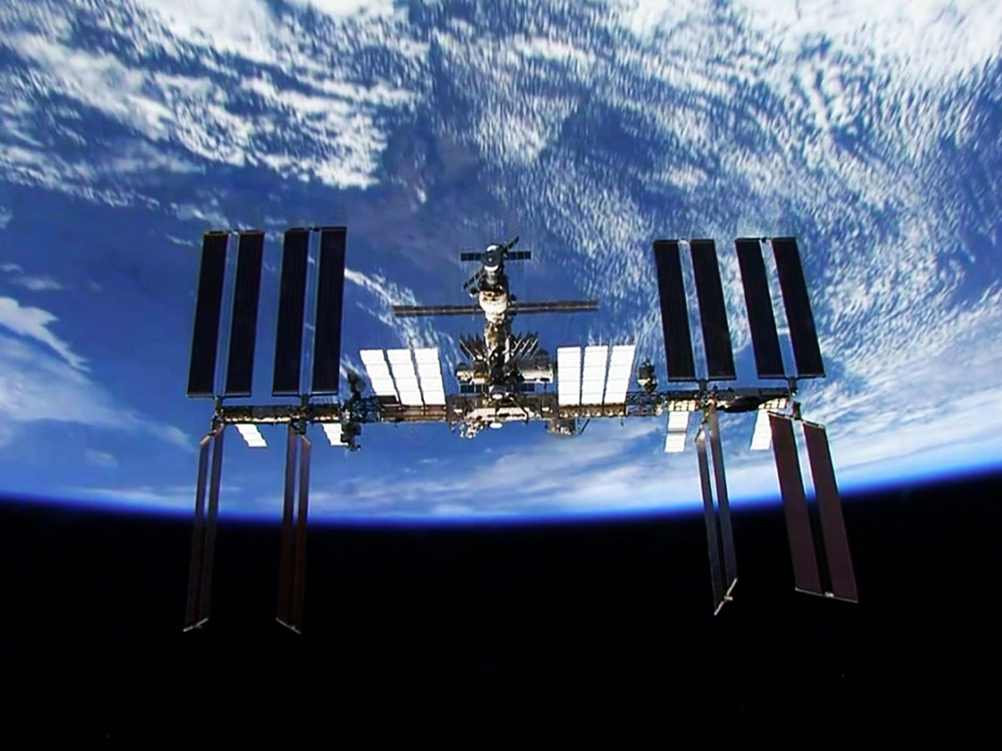 3D view of the ISS. This image is from ISS: 24/7 On A Space Station. [Photo of the day - October 2018]