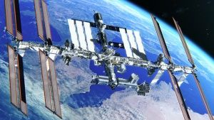 3D view of the ISS. This image is... [Photo of the day - 13 OCTOBER 2018]