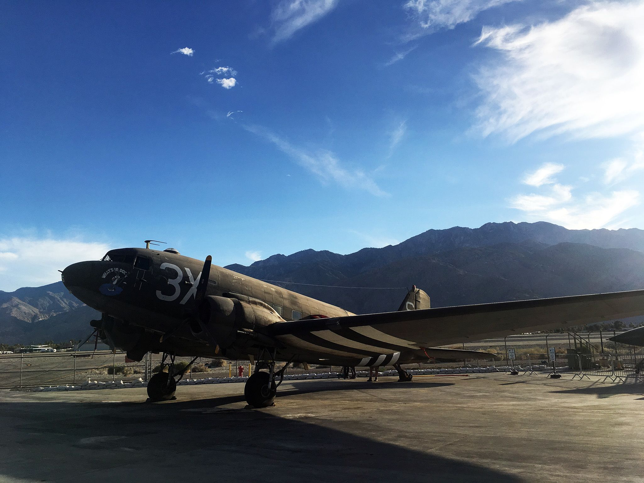 Palm Springs, CA:  C47 Plane at Palm Spring Air Museum  This image is from Nazi Megastructures:... [Photo of the day - January 2019]