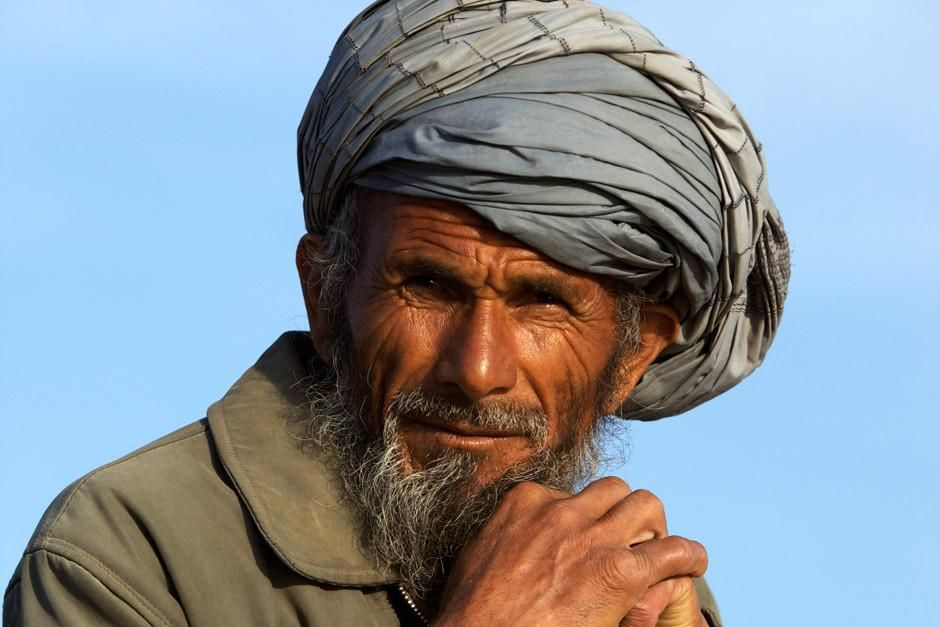 A portrait of an elderly shepherd in Afghanistan. This image is from Most Amazing Photos. [Photo of the day - أبريل 2012]
