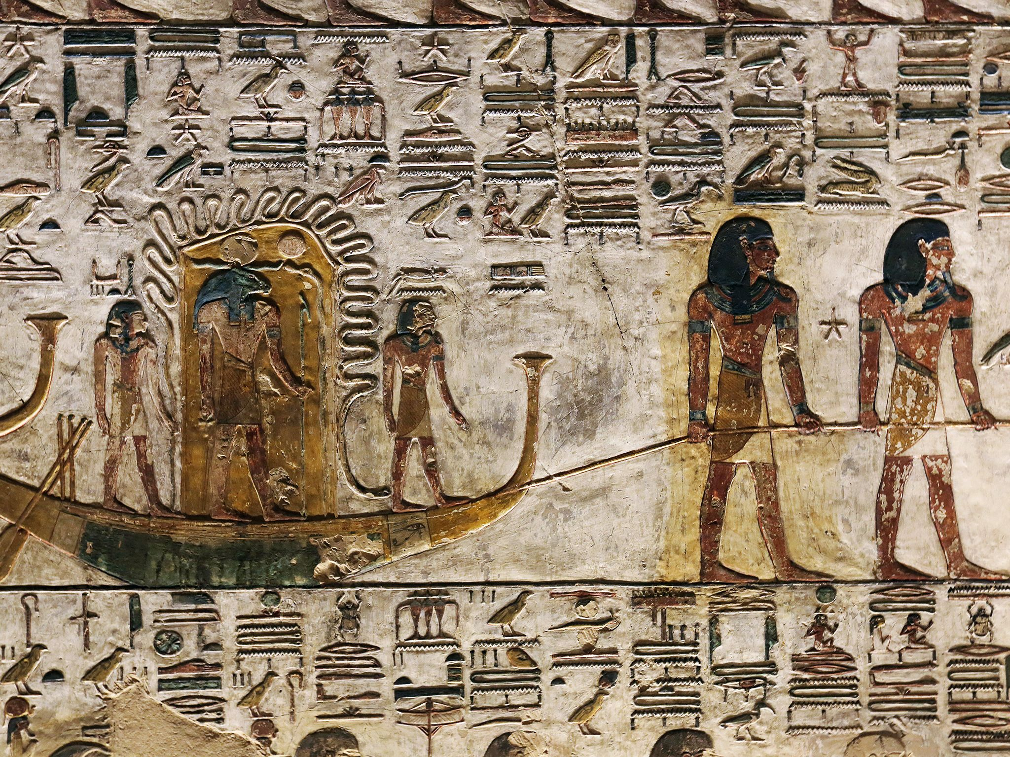 Luxor, Egypt:  Tomb detail. This image is from Lost Treasures of Egypt. [Foto del giorno - March 2019]