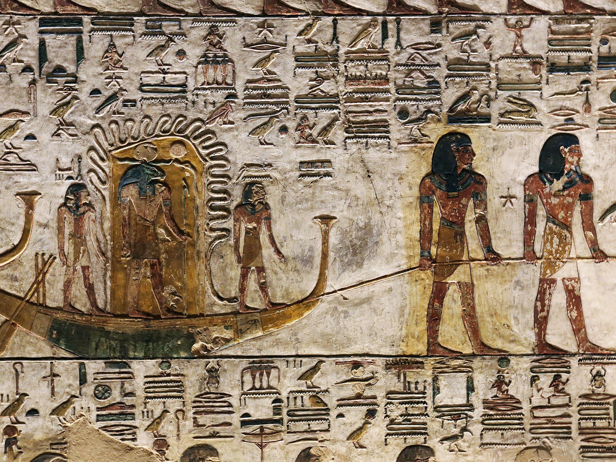 اقصر، مصر: جزییات مقبره. | عکسی از برنامهی گنجهای... [Photo of the day - مارس 2019]