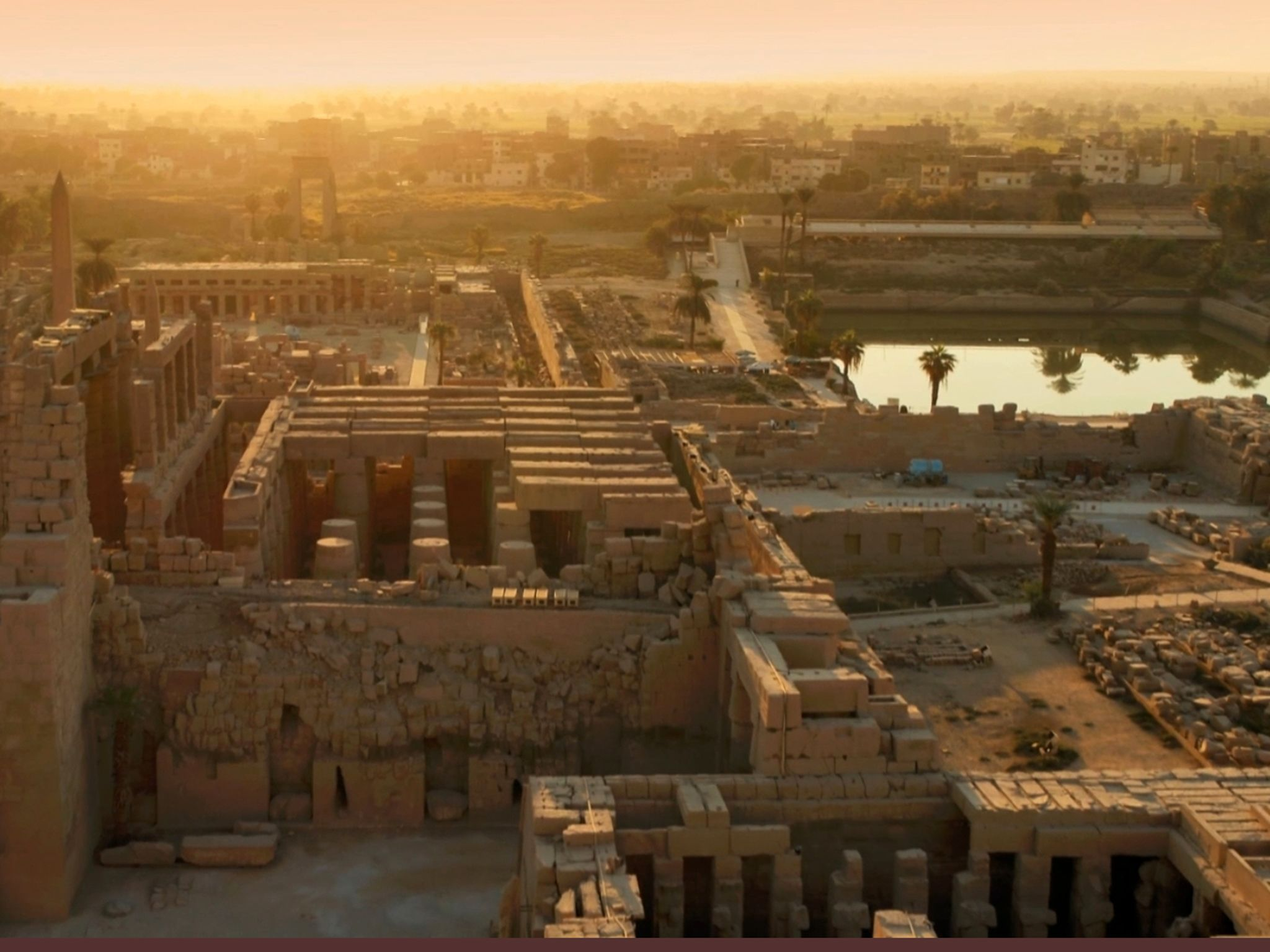 Luxor, Egypt:  Karnak Temple. This image is from Egypt From Above. [Foto del giorno - aprile 2019]