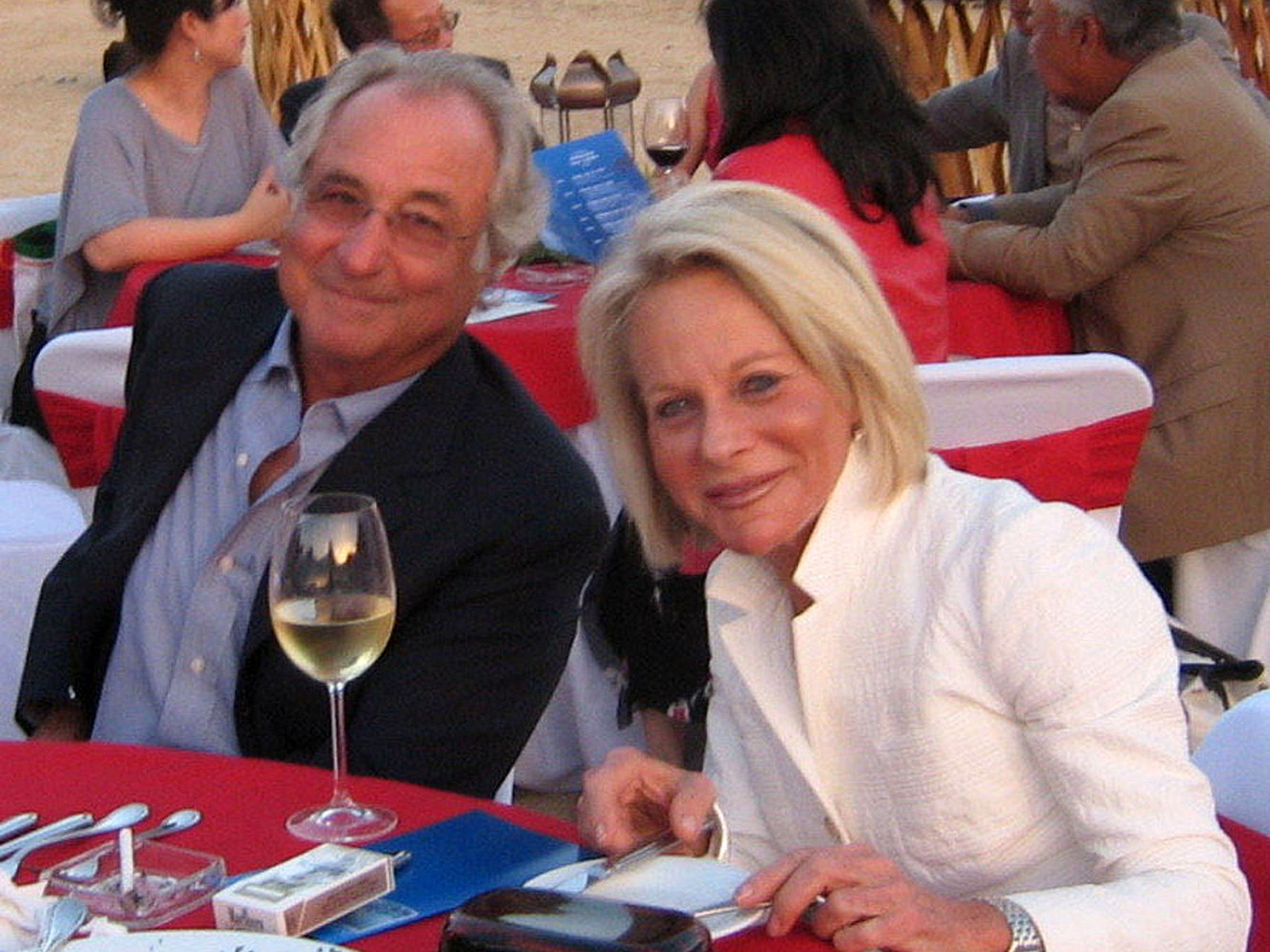 Bernard Madoff and wife Ruth at a party in the desert near Cabo san Lucas. This image is from In... [Photo of the day - May 2019]