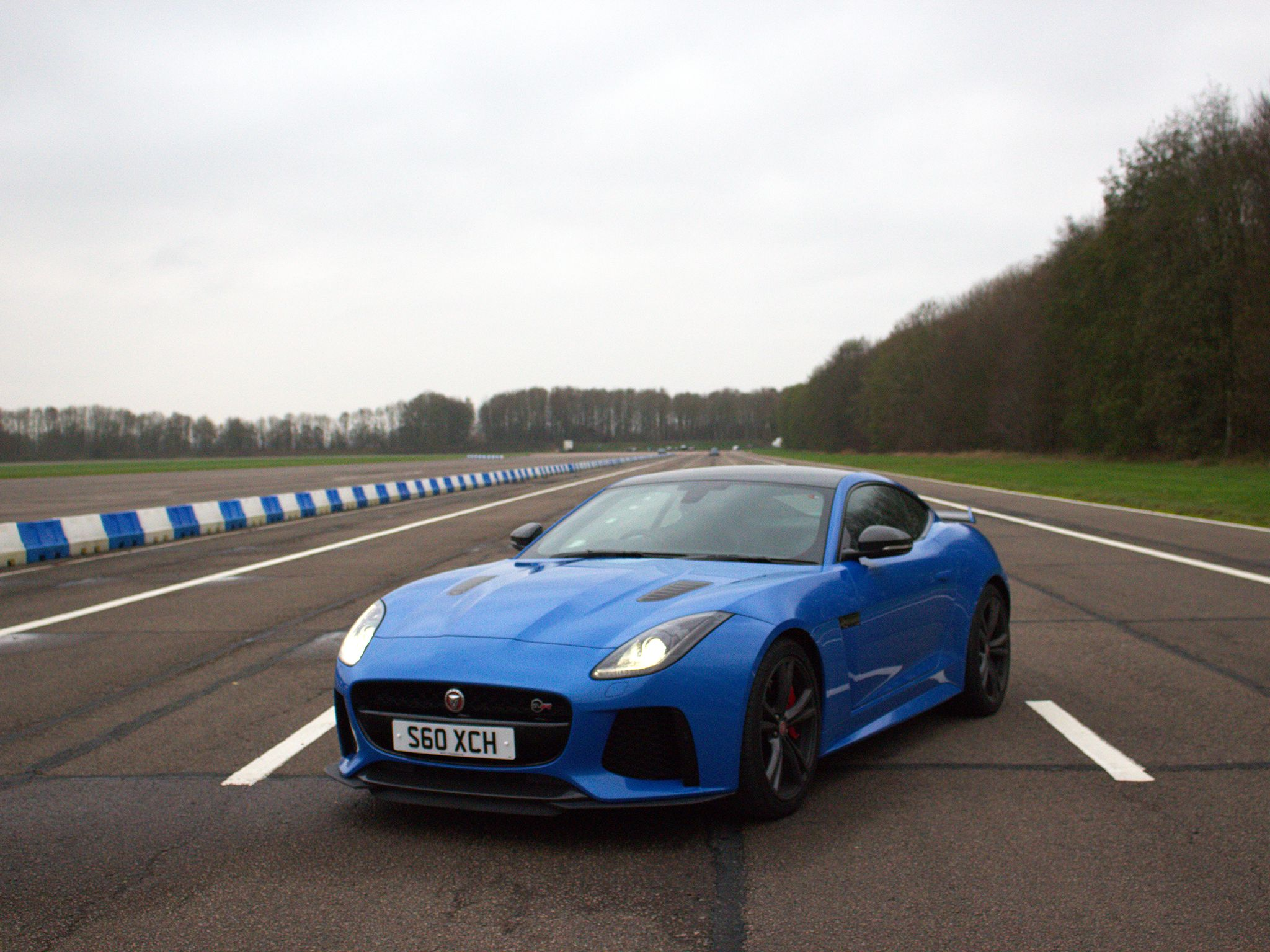 Jaguar F-Type.  This image is from Scrapyard Supercar. [Photo of the day - June 2019]