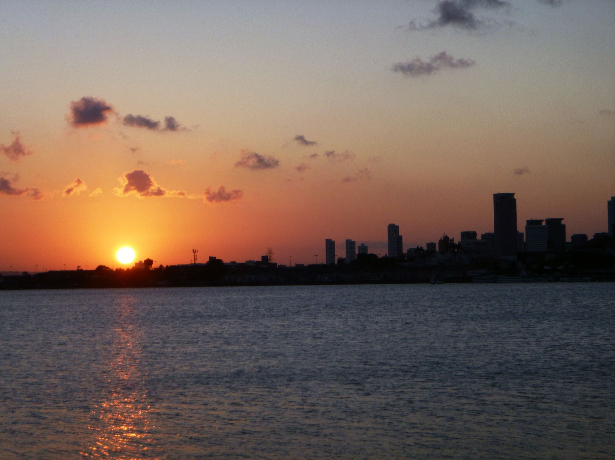 Sunset in Recife. This image is from When Sharks Attack. [Photo of the day - ژولیه 2019]