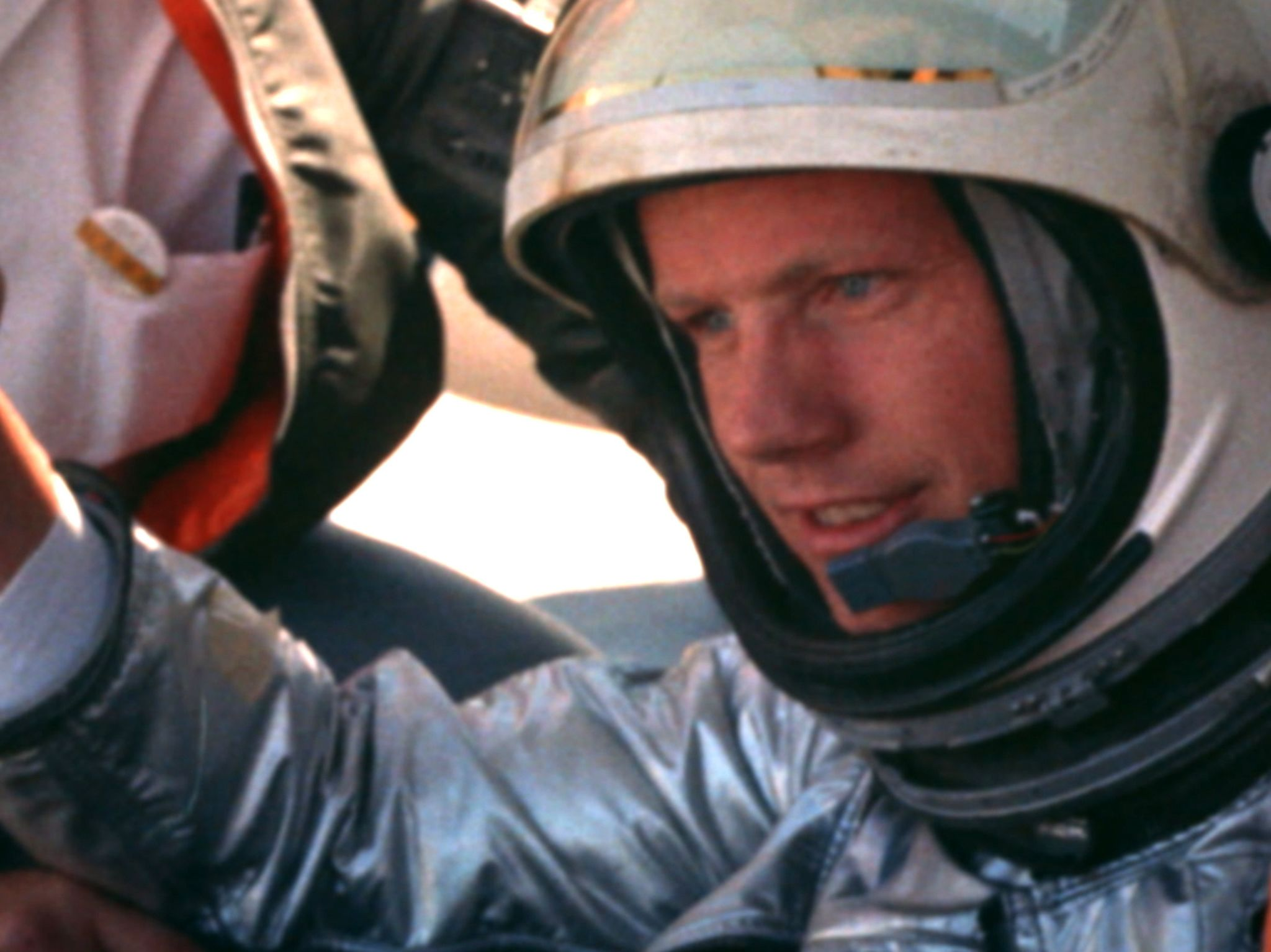 CA:  Neil Armstrong in the cockpit of the X-15.  This image is from The Armstrong Tapes. [Photo of the day - July 2019]