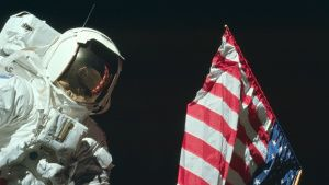 Eugene Cernan planting flag on Moon... [Photo of the day - 23 ژولیه 2019]