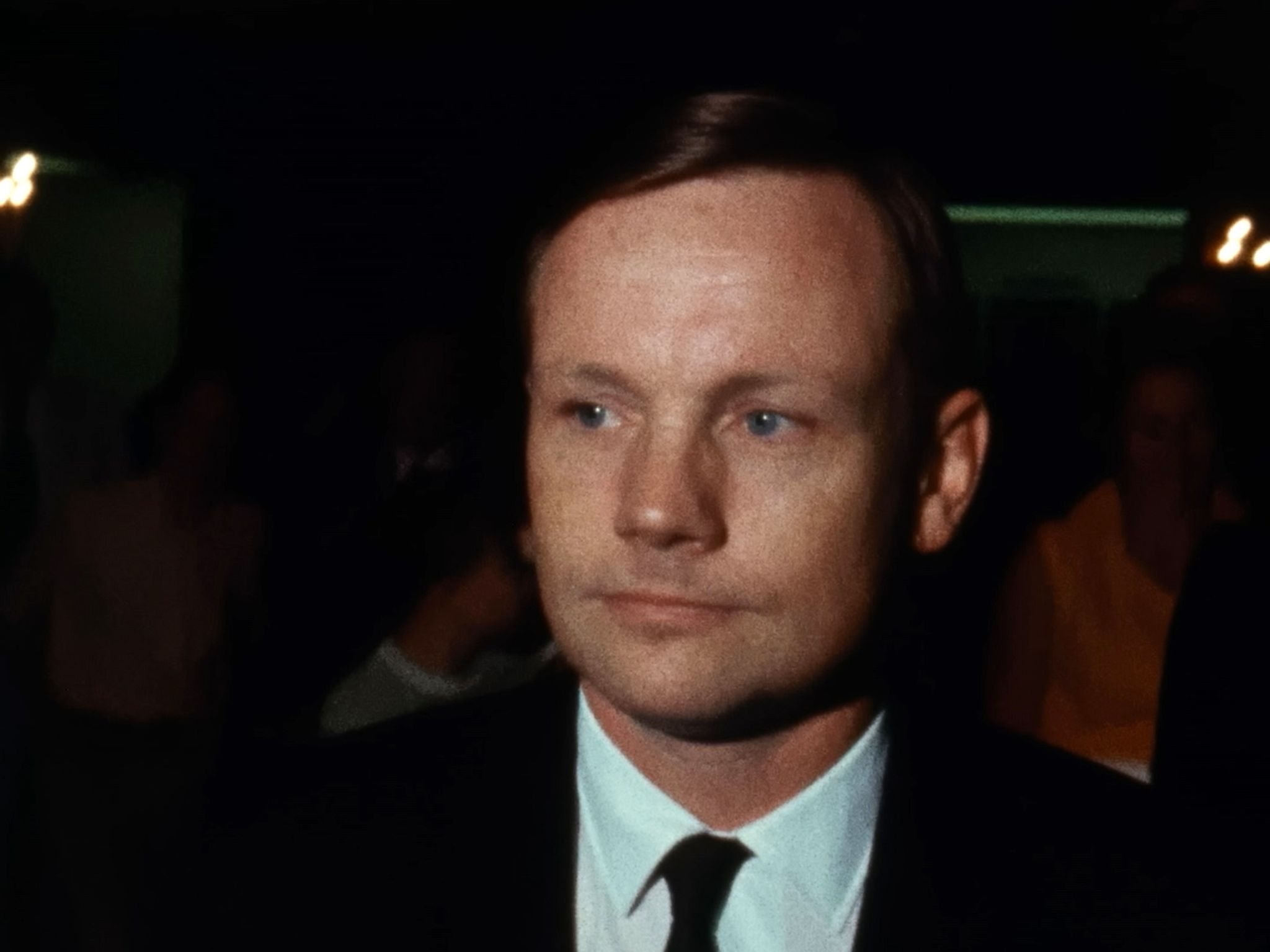 Texas:  Neil Armstrong after the Apollo 11 mission. This image is from The Armstrong Tapes. [Photo of the day - July 2019]