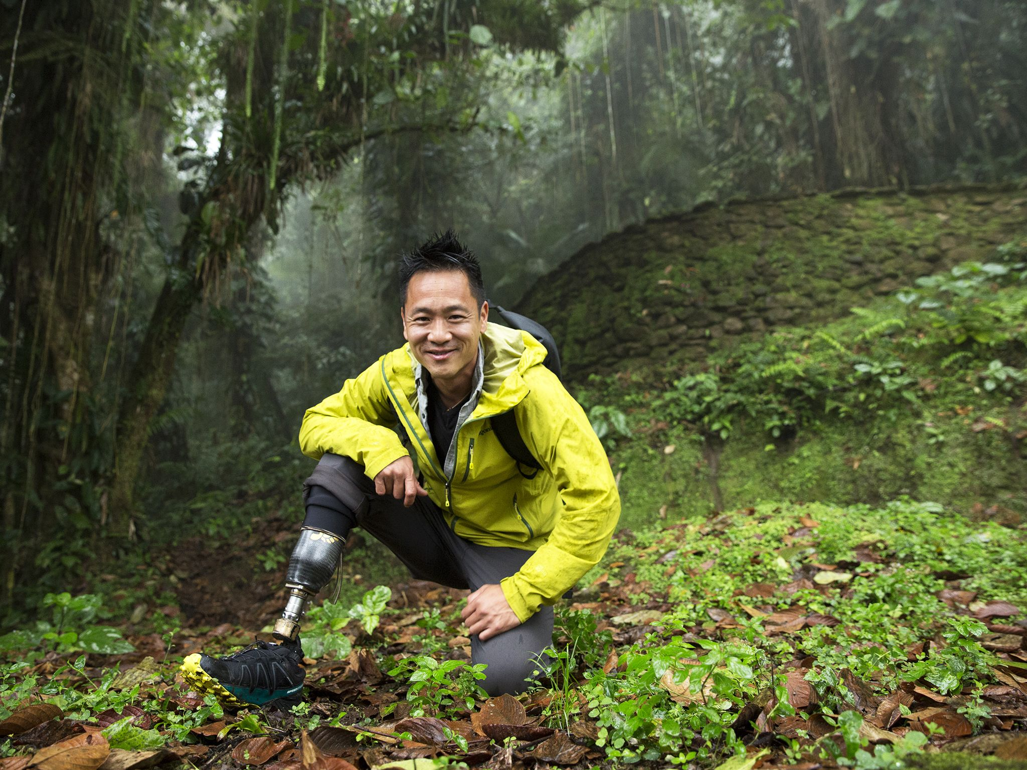 Ciudad Perdida, Colombia: Dr. Albert Lin. This image is from Lost Cities with Albert Lin. [Photo of the day - October 2019]