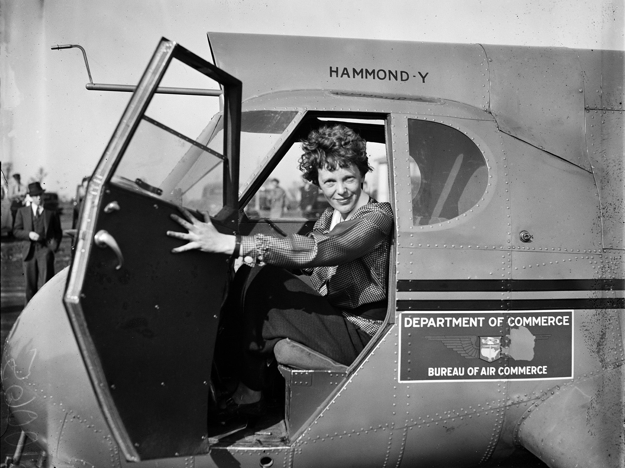 Amelia Earhart. This image is from Expedition Amelia. [Photo of the day - October 2019]