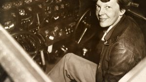 File photo of Amelia Earhart... [Photo of the day - 18 اکتوبر 2019]