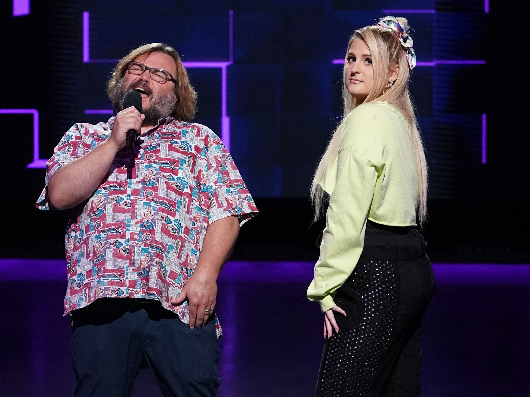 """Your Brain on Music"" starring Jack Black and featuring Singer-Songwriter Megan Trainor.  This... [Photo of the day - January 2020]"