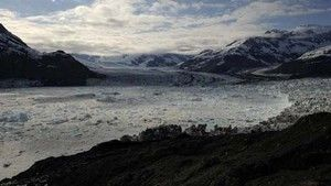 Extreme Ice: Colmbia Glacier Alaska photo