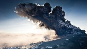 Volcanic Distruption photo