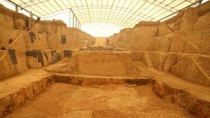 Ancient Chinese Tombs photo