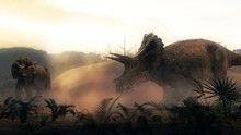 Inside T. Rex show