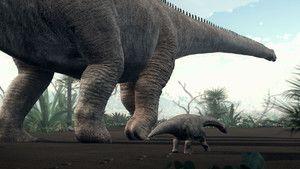 Walking Like a Dinosaur 照片