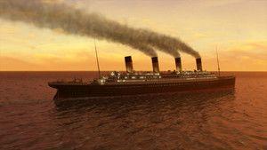 CGI Görüntüleriyle Titanic fotoğraf