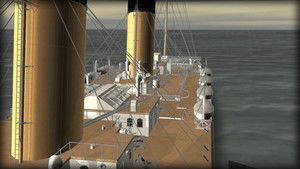 Titanic in CGI photo