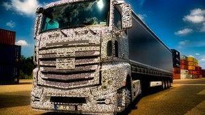 Mercedes Actros fotó