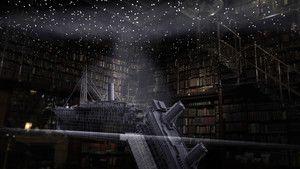 Titanic in CGI photo