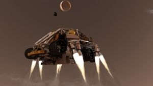 Mega Rover in Action photo