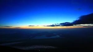Il monte Fuji foto