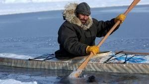 Sfida tra i ghiacci foto