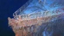 Titanic Shipwreck show