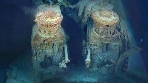 Titanic Shipwreck photo