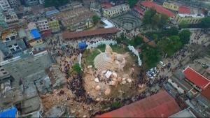 Nepal a pezzi foto