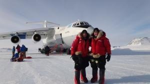 عبر القطب الجنوبي صورة