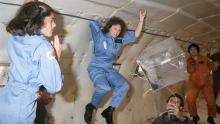 L'equipaggio del Challenger programma