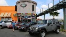 Jeep Wrangler show