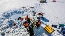 Storming Antarctica show