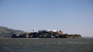Island of Alcatraz 照片