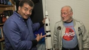 Buzz Aldrin photo