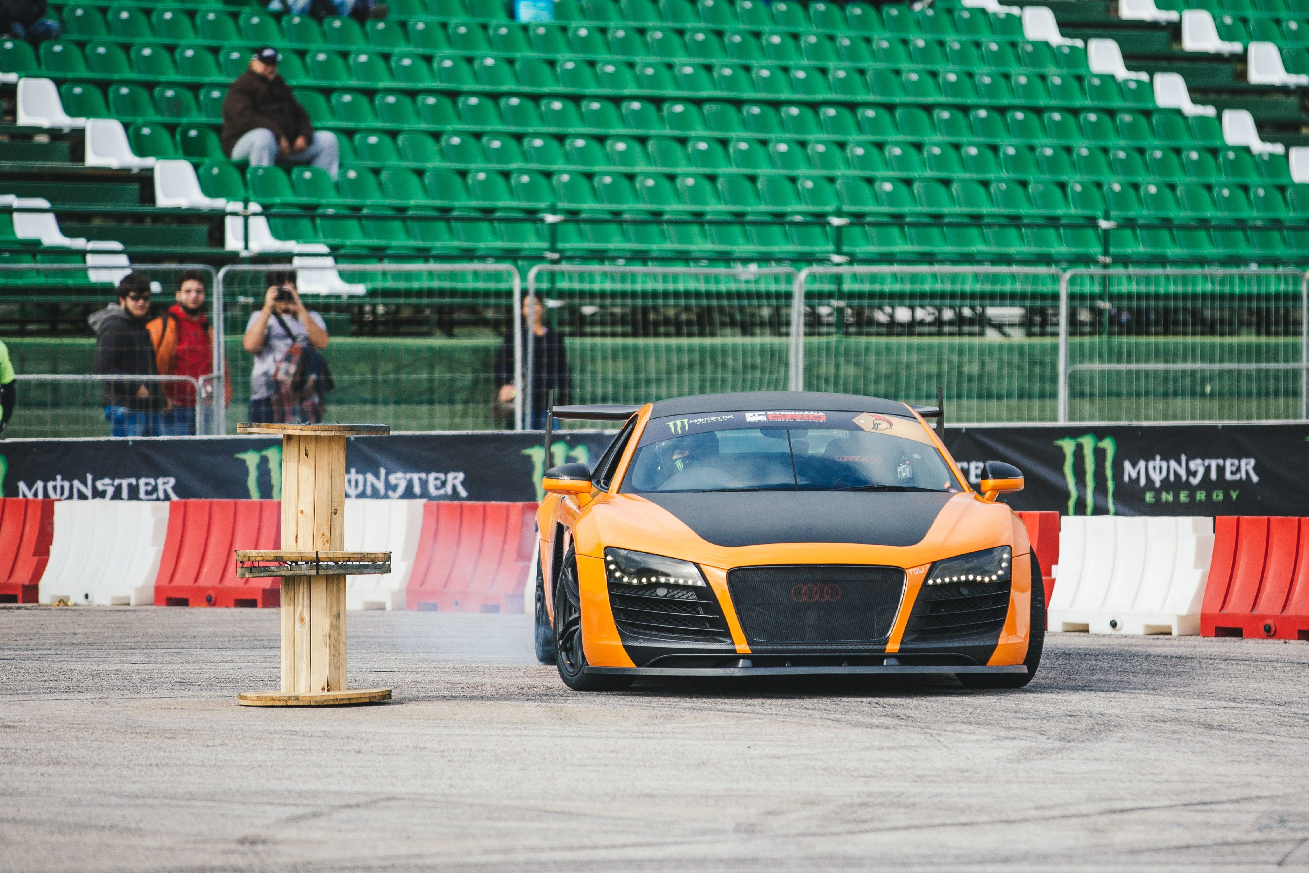 Audi R8 Drifter National Geographic Channel Abu Dhabi Photos Supercar Megabuild National Geographic Channel Abu Dhabi National Geographic Channel Middle East English