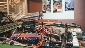سيارة جاكوار الخاصة بالسباق صورة